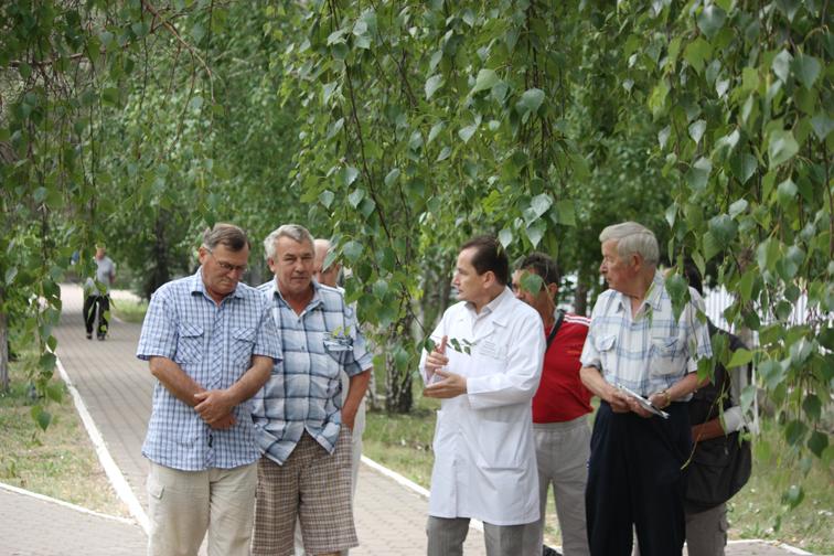 Прогулка с кардиологом в Уфе