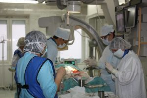 16.02.2018 г. — В ГБУЗ РКЦ впервые в Башкортостане выполнена экстренная операция при разрыве грудной аорты травматического характера.