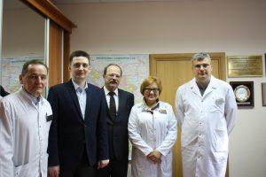 Республиканский кардиологический центр посетили специалисты из Казани.