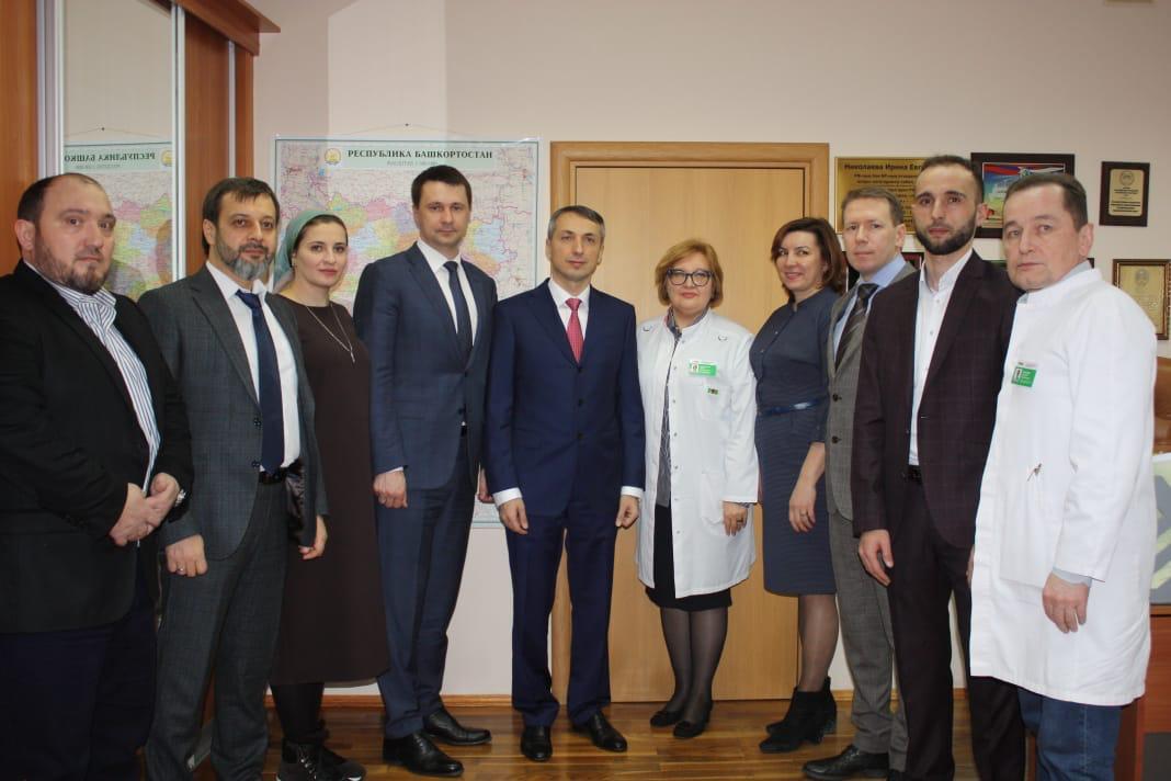 Делегация Чеченской Республики посетила кардиоцентр