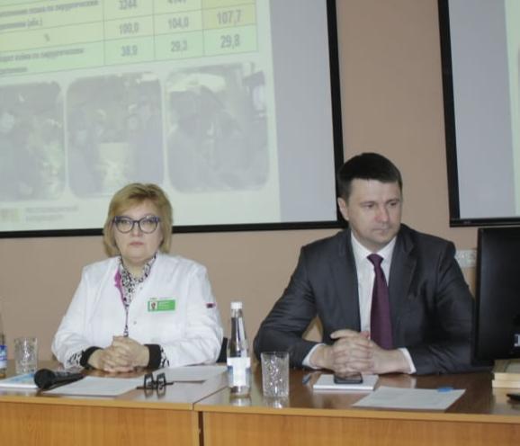 Накануне мы подвели итоги работы на медицинском совете в присутствии  министра здравоохранения Башкортостана Максима Забелина.